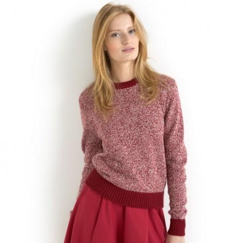 Пуловер, 50% шерсти - SOFT GREY