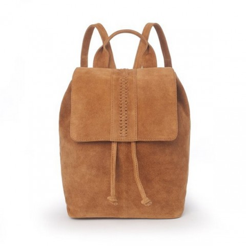 Рюкзак из невыделанной кожи темно-бежевый R studio